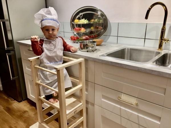 Učiaca veža = spoločné varenie s deťmi