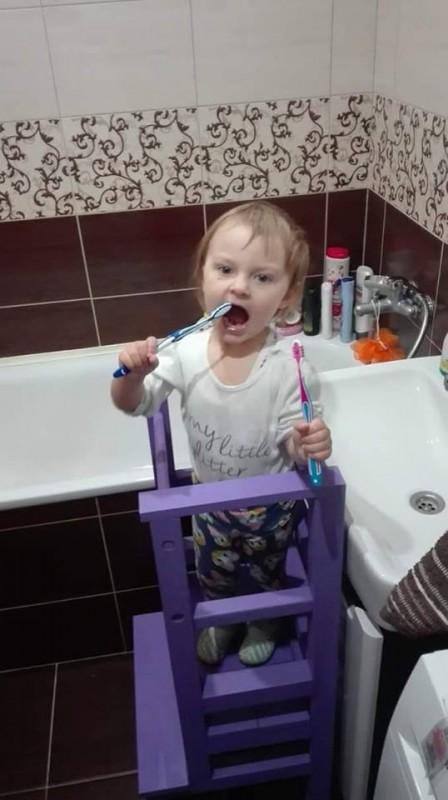 Učiaca veža v kúpeľni