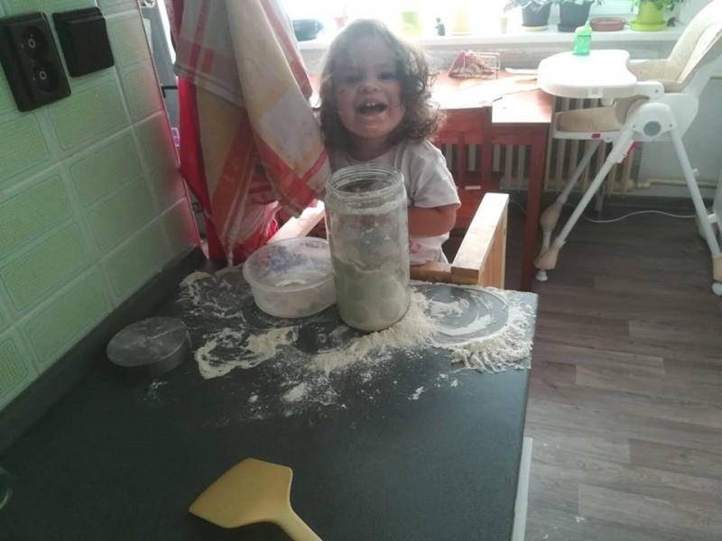 Pečenie koláčov spolu s deťmi