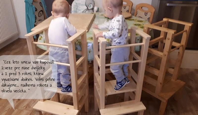Tri učiace veže v kuchyni