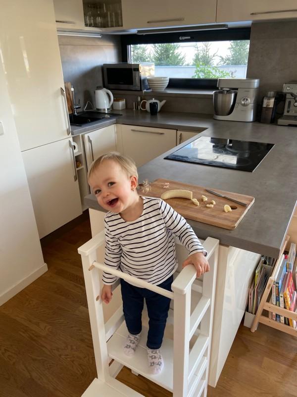 Dieťa je šťastné, že sa vie hrať